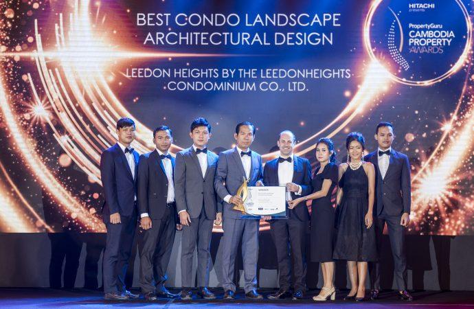 Leedon Heights Wins at Property Guru Cambodia Property Awards 2020