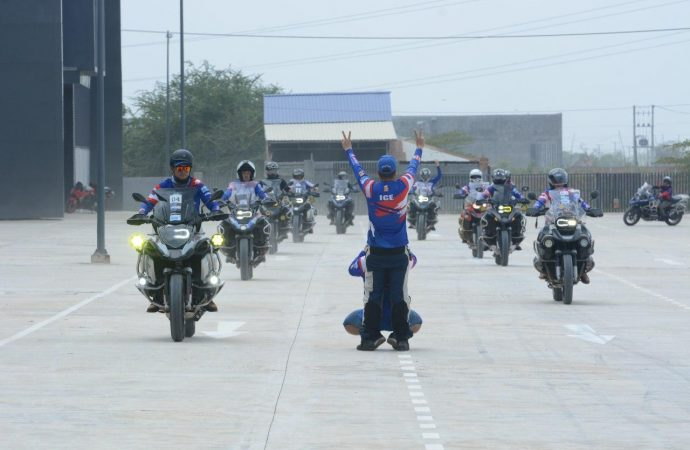 MSQM Park Hosts BMW Motorcycle Club Cambodia